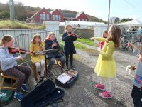 Busking Time for Tilara at Ballycotton 10