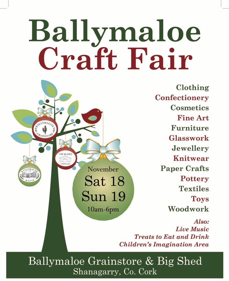 Ballymaloe Craft Fair 2017